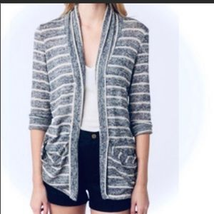 Pins and Needles Anthropologie open cardigan